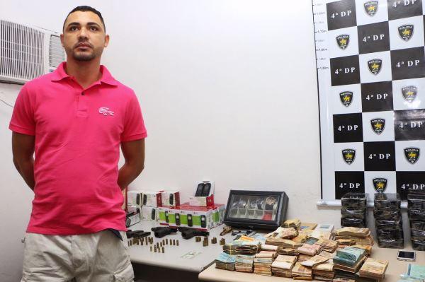 """João Maria dos Santos de Oliveira, 32 anos, mais conhecido como """"João Mago"""""""