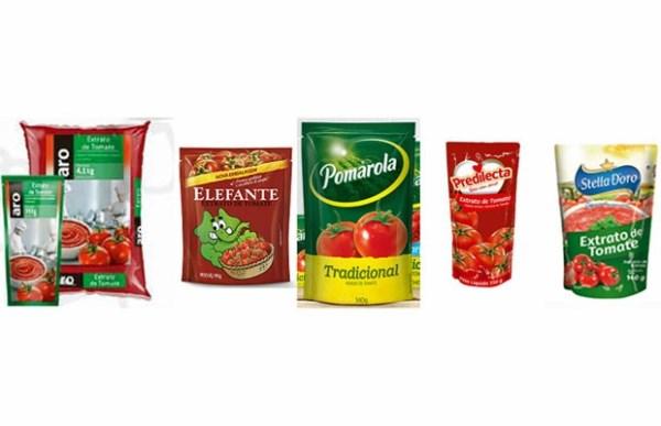 ANVISA – Proíbida a venda de extrato e molho de tomate de 5 marcas