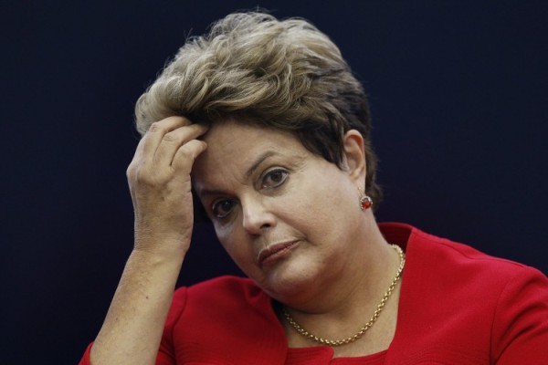 Dilma Rousseff, presidente da República atualmente afastada.