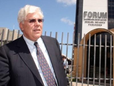 Ex-governador Fernando Freire foi condenado por peculato (Foto: Marcelo Barroso/Tribuna do Norte)