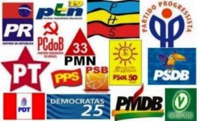 Partidos políticos já receberam R$ 370 milhões este ano