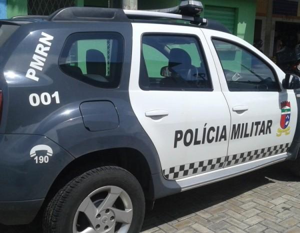 Sargento da PM é baleado durante assalto em São Gonçalo do Amarante
