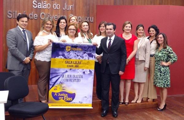 VIOLÊNCIA DOMESTICA: A coordenadoria estadual da Mulher do TJRN inaugura uma Sala Lilás na comarca de Caicó