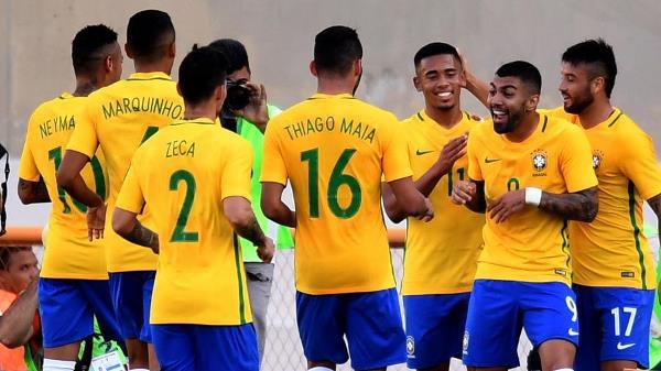 Brasil vence Japão em teste olímpico com gol de Gabriel e Neymar