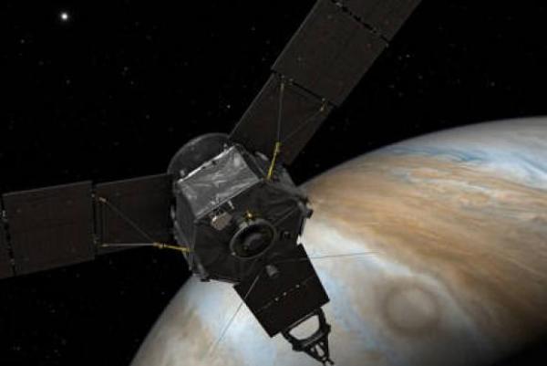 Sonda Juno já está na órbita de Júpiter