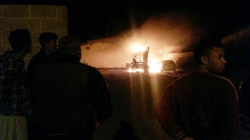 LAGOA NOVA: Veículos da prefeitura são incendiados na noite desta segunda-feira (01)
