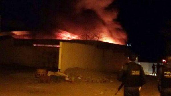 Delegacia da cidade de Jardim do Seridó é incendiada.