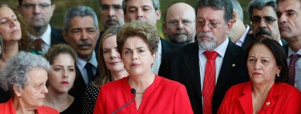 Dilma reuniu aliados, entre eles a Senadora Potiguar Fátima Bezerra.