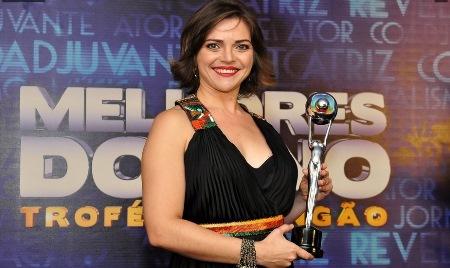 Em 2012, Titina foi a vencedora do troféu Melhores do Ano na categoria Atriz Revelação.