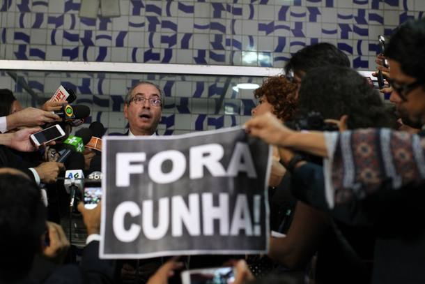 Cunha se transforma em garoto propaganda em campanha internacional contra a corrupção