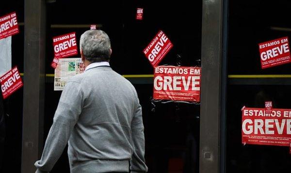 Bancários entram em greve a partir de terça-feira em todo o país