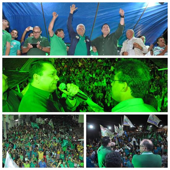 Ezequiel Ferreira participa de grandes mobilizações políticas no Seridó