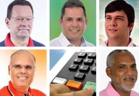 Carlson, Eugênio, Odon, Sérgio e Zé Coco. As fotos estão em ordem alfabética.