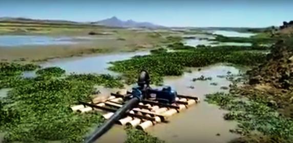 VÍDEO: Captação da Adutora Serra de Santana está em estado crítico devido baixo volume d'água na Barragem Armando Ribeiro