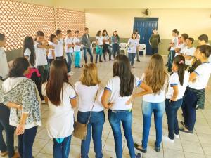Várias escolas irão receber durante todo o mês de setembro as ações do projeto Assembleia Cidadã.