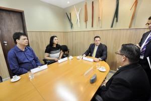 Ezequiel vai solicitar agilidade na reforma do Centro de Convenções