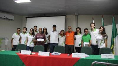 Grêmio e candidatos a prefeito da cidade de Currais Novos