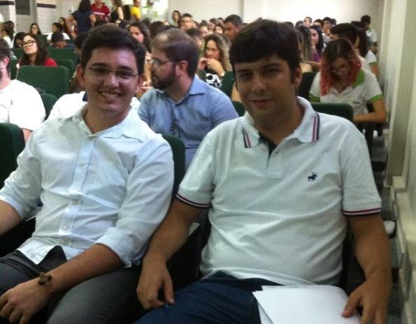 Os jovens Anderson Alves e Odon Jr, eleitos (vice e prefeito de Currais Novos.