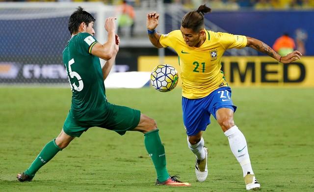 """SELEÇÃO SHOW: Em Natal, Brasil goleia Bolívia com espetáculo de Neymar e gol de """"Safadão"""""""