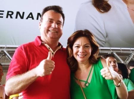 Ivanildinho Ferreira (PSB) E Fernanda Costa (PMDB)