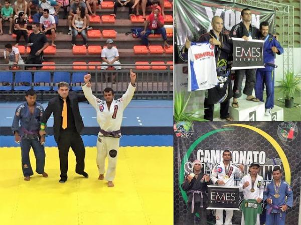 Curraisnovense se consagra Campeão Sulamericano de Jiu-jitsu