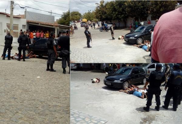 CURRAIS NOVOS: Assalto, perseguição, intensa troca de tiros e 04 bandidos baleados na tarde de hoje (21)