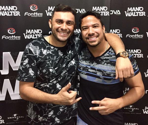 Mano Walter e Giullian Monte, em João Pessoa/PB