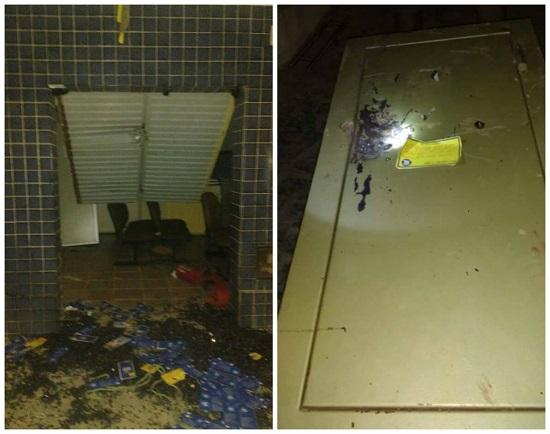 VIROU ROTINA: Bandidos estouram agência dos Correios de Bodó e aterrorizam população durante madrugada de hoje (07)