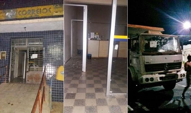 ROTINA: Bandidos invadem agências dos Correios de Pureza e Campo Grande