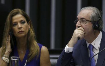 Mulher de Cunha prestará depoimento a Moro em novembro