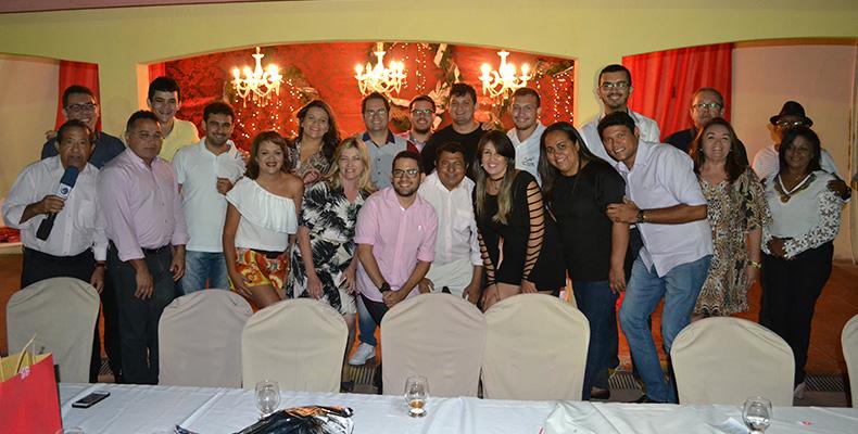 Parte da imprensa curraisnovense reunida. (Foto: Rogério Villar)