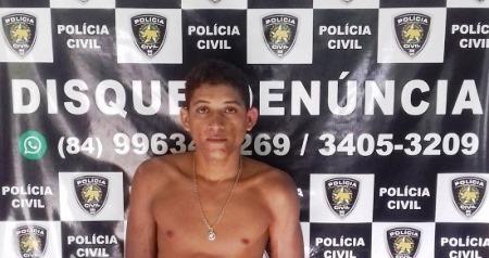 "José Carlos Roberto de Souza, 21 anos, vulgo ""Duquinha"""