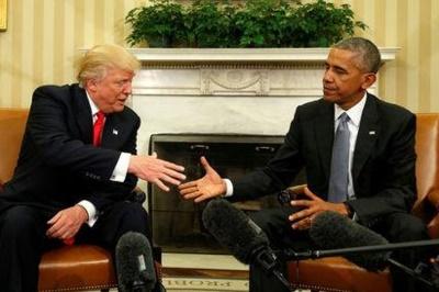 """Obama disse que sugeriu ai presidente eleito uma """"transição bem-sucedida entre as duas presidências"""""""