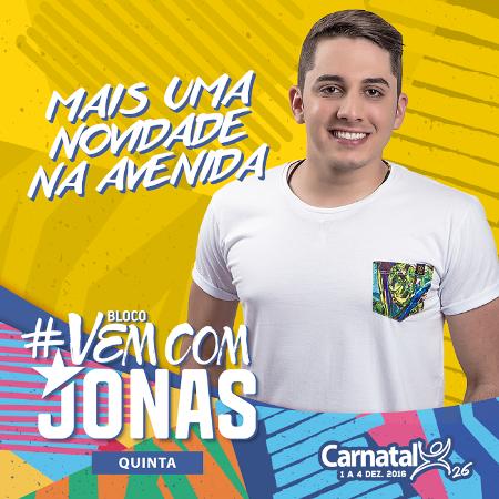 O artista é destaque em todo o Brasil