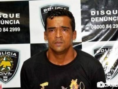 Osvaldo Ferreira de Souza foi preso suspeito de envolvimento na morte de policial militar (Foto: G1 RN)