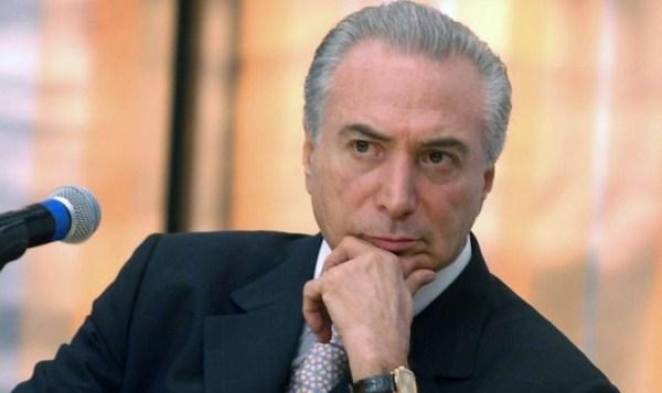 Palácio repudia acusação contra Temer feita por delator da Odebrecht