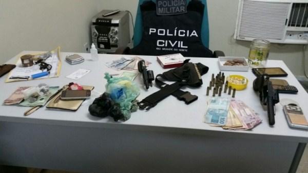 Operação conjunta das polícias Civil e Militar prende quadrilha suspeita de homicídios no RN