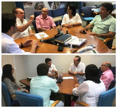Reunião com prefeitos e presidente da CAERN