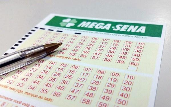 Mega-Sena (Foto: Heloise Hamada / G1)