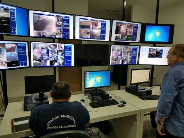 Centro de Monitoramento de São Gonçalo.