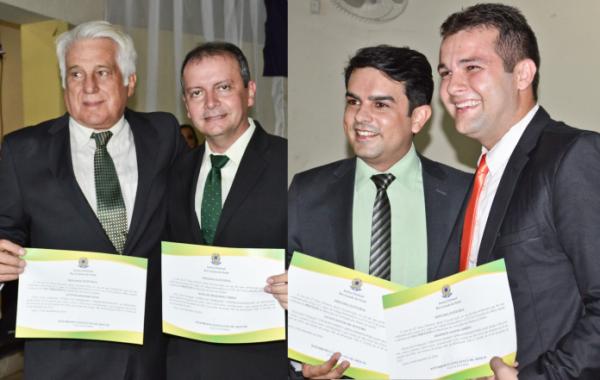 Isaias Cabral e Gilson Dantas são diplomados prefeitos de Acari e Carnaúba dos Dantas