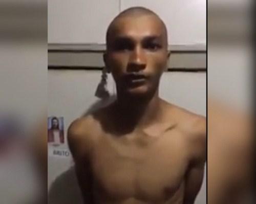 VÍDEO: Suspeito de matar PM confessa crime e diz que agiu por 'legítima defesa'