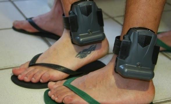 CORRETO! No RN, tornozeleiras eletrônicas serão pagas por presos