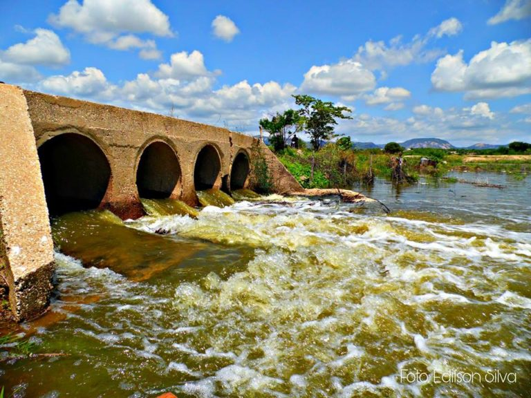 FOTOS: Rio Piranhas neste fim de semana, em Jucurutu