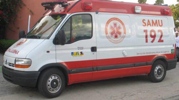 SALVE-SE QUEM PUDER: Ambulância do Samu é roubada enquanto equipe realizava atendimento em João Pessoa
