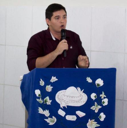 CURRAIS NOVOS: PCdoB lança oficialmente pré-candidatura do atual vice-prefeito Anderson Alves a deputado federal