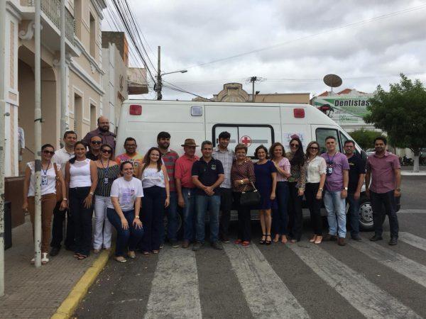 Prefeitura de Currais Novos adquire mais uma ambulância para atendimento da população