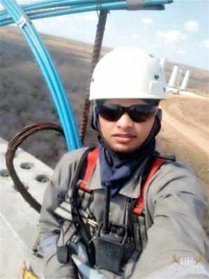 Jovem morre ao cair de Torre Eólica de uma altura de 32 metros no interior do RN