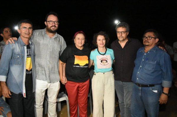 Francisco do PT prestigia pré-lançamento de Bacurau, ao lado da governadora Fátima Bezerra e elenco do filme