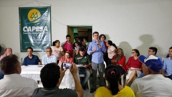 Francisco do PT comemora assinatura de ordem de serviço para construção de queijeiras no Seridó